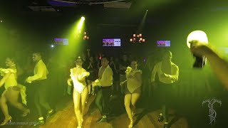 ZAFIRE LADIES DC Salsa Dance Performance At THE SALSA ROOM