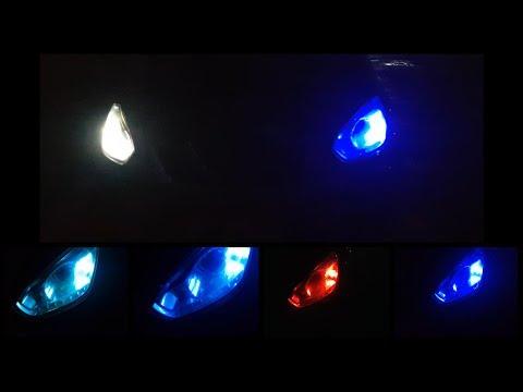 Синие лампочки в габариты, для авто.Разноцветные светодиодные