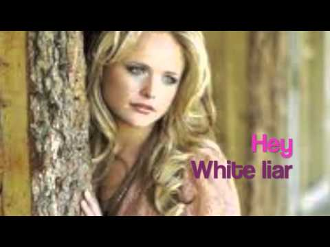 White Liar Lyrics