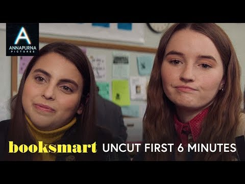 Watch Beanie Feldstein take a high school victory lap in the first six minutes of Booksmart