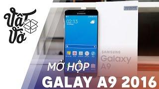 """Galaxy A9 2016 với màn hình 6"""" sẽ đem đến trải nghiệm thú vị, cấu h..."""