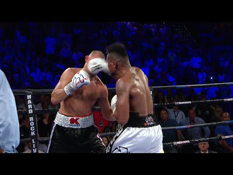 Eleider Alvarez Wants To Become Champion Again   Interview & Fight Highlights