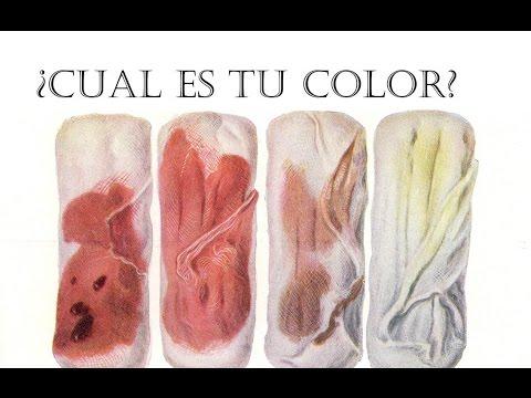 El color de la sangre de tu menstruaci n te puede mostrar - Como se consigue el color naranja ...
