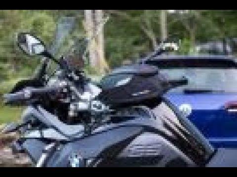 BMW R1200Gs Adventure >> SW-MOTECH Quick-Lock EVO Daypack Tank Bag Install - R1200 ...