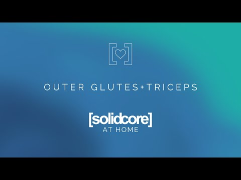 [solidcore] at home: outer glutes & triceps
