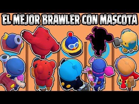 CUAL ES EL MEJOR BRAWLER CON MASCOTA? | OLIMPIADAS De BRAWLERS Y SUS MASCOTAS BRAWL STARS