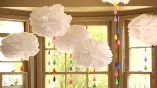 How To Make A Rainbow Showers Mobile || Kin Diy