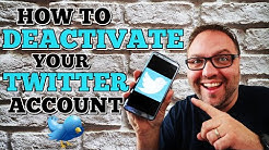 How to Deactivate Twitter - Delete Twitter Account Permanently