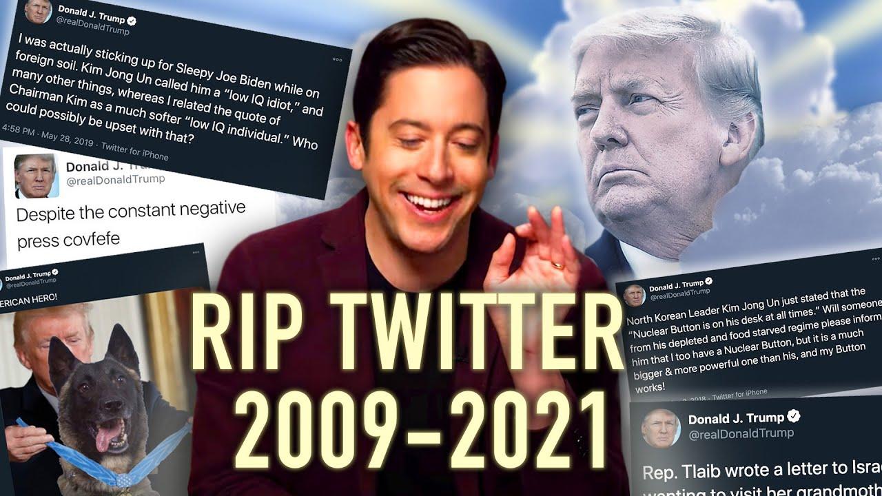 RIP to the Commander in Tweets | FUNNIEST Tweets From Trump Presidency