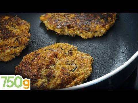 recette-de-galettes-de-quinoa-aux-légumes---750g