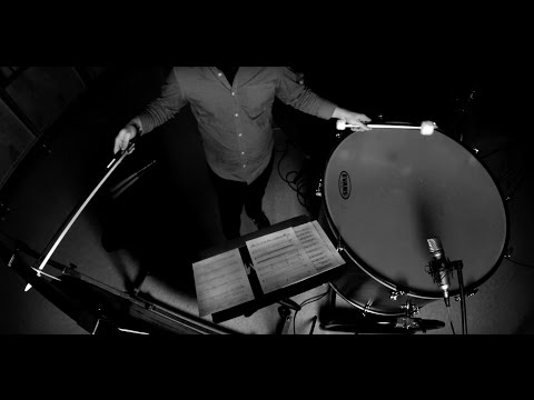 Rust by Drew Worden (for solo percussion & electronics)