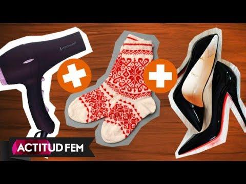 Como hacer grandes los zapatos que aprietan | ActitudFem