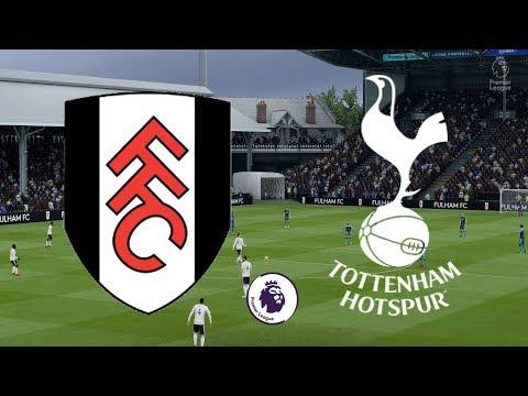 Premier League 2018/19 - Fulham Vs Tottenham - 20/01/19 - FIFA 19 Mp3
