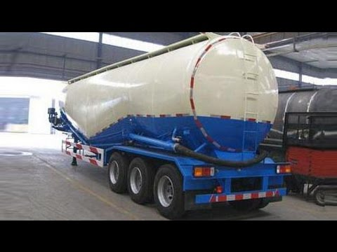 Cement Trailers | Silo Trailer | Bulk Cement Tank Trailer - Ready for Shipment