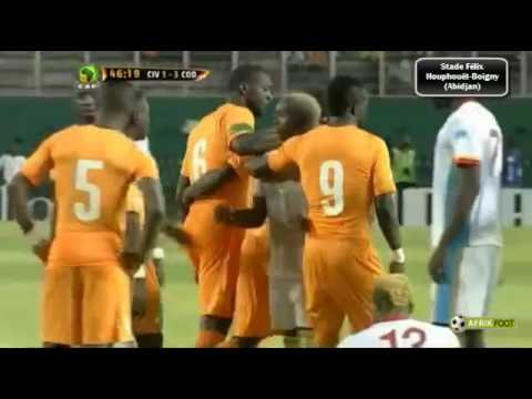 Ivory coast Vs DRC,  Cote d'ivoire Versus DR Congo AFCON 20 January 2017 Live Match Streaming Online