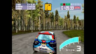 Colin McRae Rally 2 Gameplay