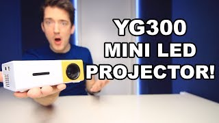 YG300 LED PROJECTOR REVIEW!