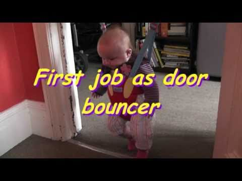 Baby In Door Bouncer/swing
