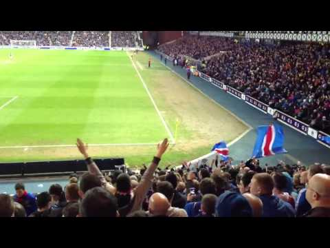 Rangers song  The year was 97 9 in a row