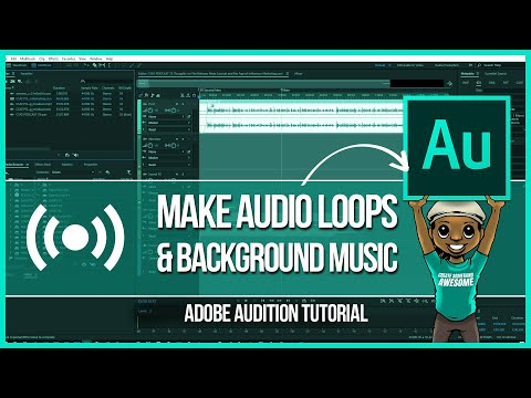 How to Create Audio Loops in Adobe Audition for Your s