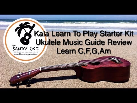 Kala Learn to Play Quick Start Guide Review//Ukulele Tutorial C,F,G,Am
