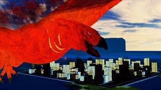 "NOVO MAPA e KAIJU ""RODAN"" em Kaiju Online ""ROBLOX""!! 🦎"