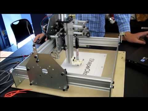 Bryan demos his CNC mill starter project!