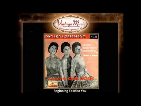 The McGuire Sisters -- Beginning To Miss You (VintageMusic.es)