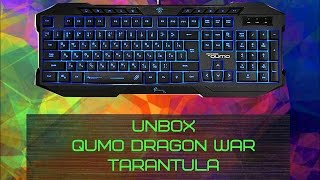UNBOX КЛАВЫ Qumo Dragon War TARANTULA