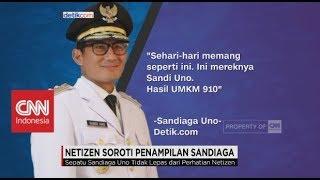 Netizen Soroti Penampilan Wagub DKI Sandiaga Uno