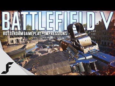 Battlefield 5 Rotterdam Gameplay + Impressions