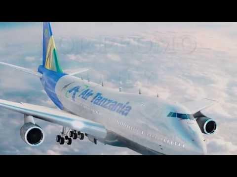New  Air Tanzania .Air force one ( ATCL)