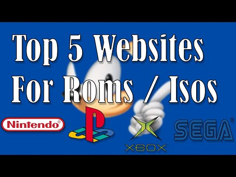 Top 5 Websites For ROMS/ISOS (2019)