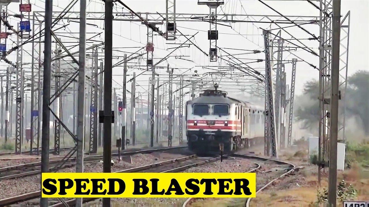 Indias 2nd Fastest Train New Delhi Bhopal Shatabdi