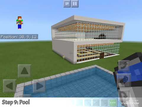 How to build a modern Minecraft house OG creator