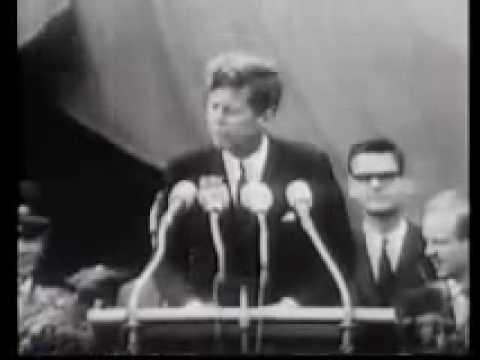 Kennedy I am a Berliner Ich Bin Ein Berliner