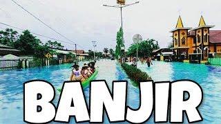 Perahu di jalanan ??!! | Tanjung Selor Banjir