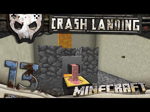 Minecraft Crash Landing 1080p Ep 13: Melting Metal