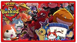 Yo-Kai Watch Busters - Part 12   Boss Rush + Giveaway! [Red Cat Team Gameplay Walkthrough]