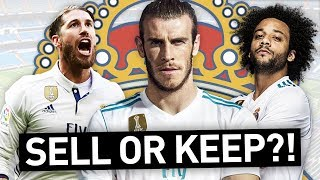 WHO WOULD I KEEP & SELL IN THE REAL MADRID SQUAD?!
