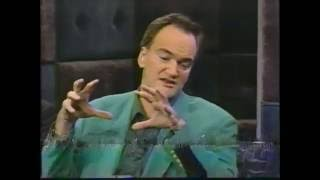 "Quentin Tarantino Talks ""Jackie Brown"" On Late Night With Conan O'Brien (1997)"