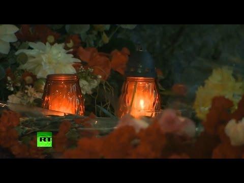 Жители Волгограда скорбят по погибшим в двойном теракте