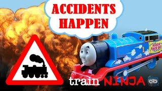Accidents Happen | Thomas and Friends Trackmaster | Japanese Song