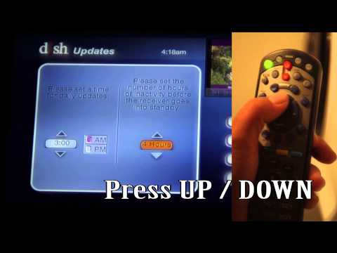 How to Disable the DISH TV Network Inactivity Timer (Automatic Shutoff)