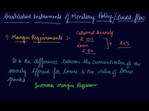 Qualitative Instruments on Control of Credit Flow | Class 12 Macroeconomic Money and Banking