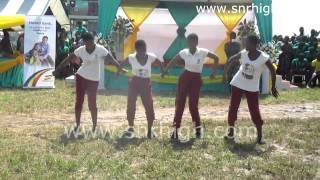 Kumasi Wesley Girls Performing at the 2014  Asanteman Funfair