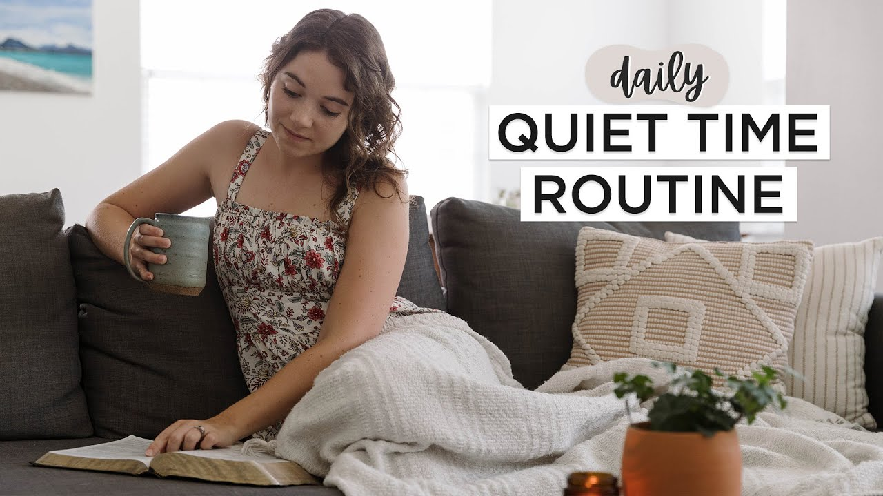 QUIET TIME ROUTINE ✨ | How I Study The Bible + Bible Study With Me