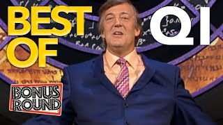 10 BEST OF QI Moments With Stephen Fry!