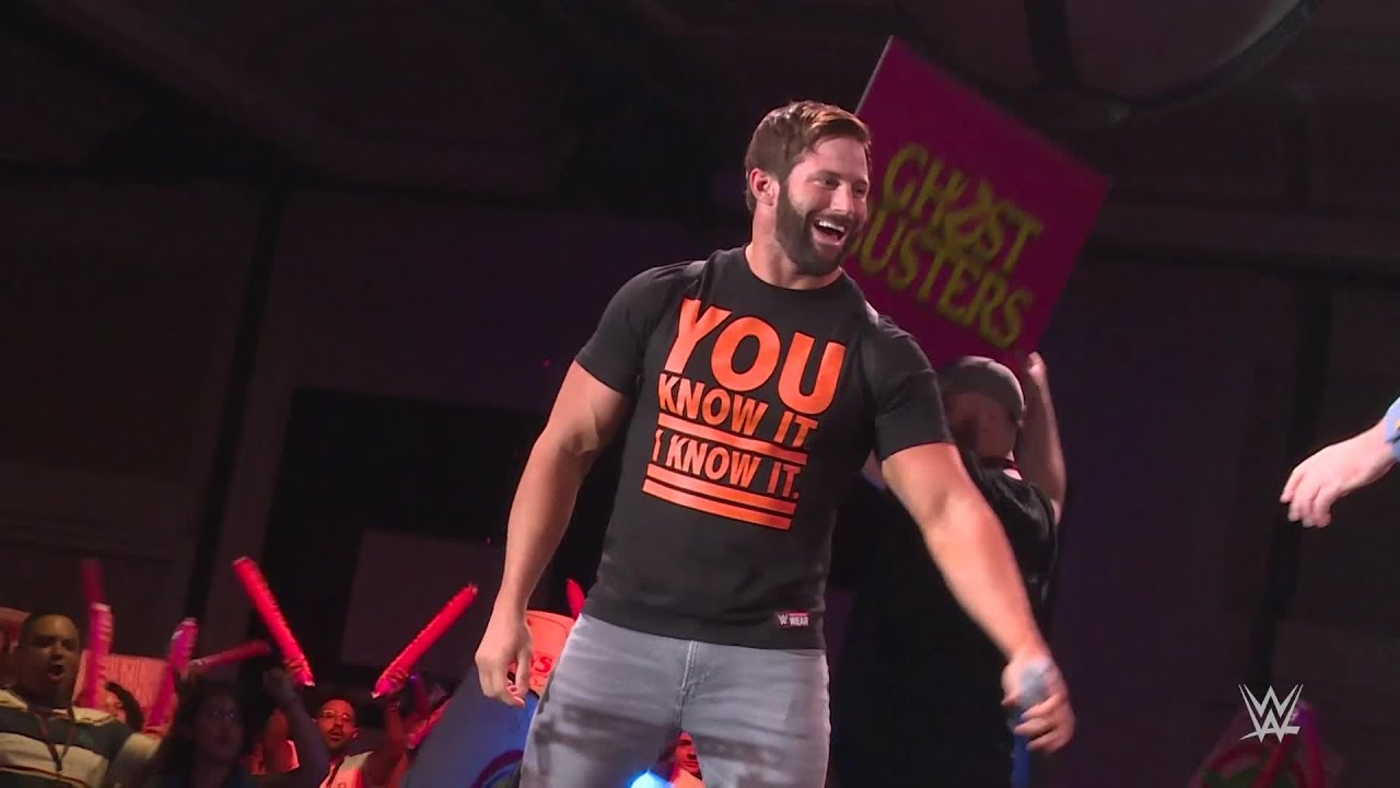 Zack Ryder becomes a Ghostbuster at Funko Fundays 2018