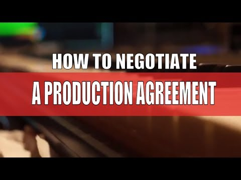 HOW TO NEGOTIATE A PRODUCER AGREEMENT & SPLIT SHEETS